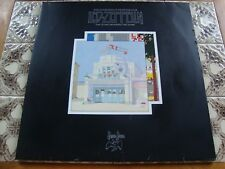 LED ZEPPELIN SONG REMAINS THE SAME 1976 MINT VINYL NON LAMINATED COVER & BOOKLET