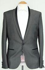 Men's Grey Harry Brown Blazer with Black trims (40R)... sample 590