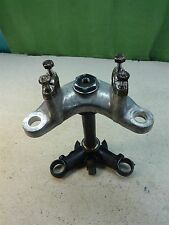 1967 honda superhawk 305 cb77 H1130~ triple tree fork clamps w bar clamps lock