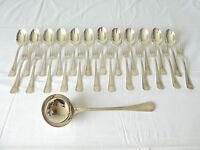 CHRISTOFLE Menagére en métal argenté 25 pieces Modele BOREAL