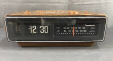 Vintage Panasonic RC-6030D Flip Clock Alarm AM/FM Radio