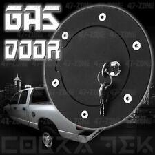 fits 2009-2018 Dodge Ram 1500//10-19 2500 Fuel Door Gas Cap Cover Gloss Black