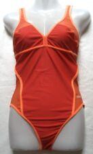 arena Damen Badeanzug Gr 40 Rot Orange chlorbeständig 20699