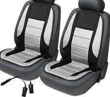 2er SET Sitzheizung Fahrersitz Beifahrersitz beheizbare Sitzauflage schwarz/grau