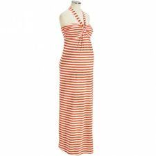 Old Navy Maternity Striped Maxi Strapless or Halter Dress Size Medium