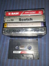New listing Cassettes 5 used tested normal and hi bias Tapes C 60 C 90 Free shipping