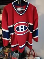 Montreal Canadiens Official Jersey Adult Small CCM