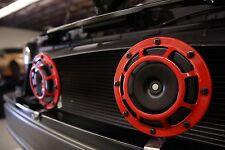 Hella Twin Red Supertone Universal Horn Kit 300/500HZ - Genuine Hella Kit!