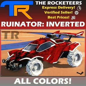 [PC] Rocket League Every RUINATOR INVERTED Limited Wheels Rocket Pass 10 White..