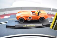 "REPROTEC 1/32 SLOT CAR RT/1963 REVERSIDE 1966 ORANGE ""AC COBRA"""