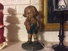 Rare Antique Hubley Doorstop Grace Drayton Bobby Blake SIGNED Campbell Soup Kids