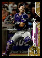 2020 Topps Gold Star #387 Tony Wolters - Colorado Rockies