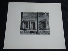 Walter Goodwin American Photographer Signed Photos 1960 Church Cathedral