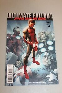 Ultimate Fallout #4 2nd Print 1st APP Miles Morales Spiderman NM Key Book RARE