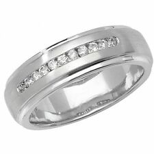 Unbranded Wedding White Gold Fine Diamond Rings