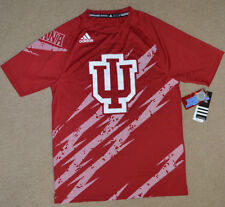 Adidas Indiana Hoosiers Performance Climalite T-Shirt Size Small