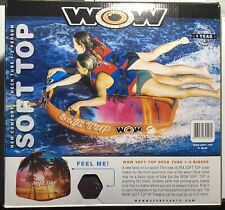 Wow 1 or 2 Person Soft Top Towable New In Box Model 20-1120