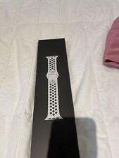 Nike Platinum Black 40mm Iwatch Sports Band