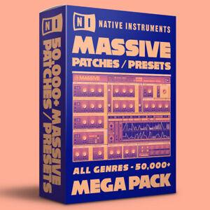 50,000+ Native Instruments Massive Patches / Presets Bundle - ALL GENRES