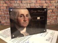 GEORGE WASHINGTON 1797 SIGNED HANDWRITTEN WORD JSA LOA AUTHENTIC HISTORIC GIFT