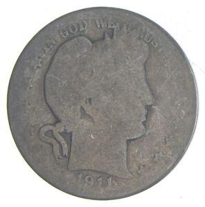 Better 1911 - US Barber 90% Silver Half Dollar Coin Collection Set Break *072