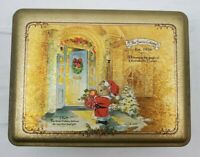 VINTAGE The Swiss Colony Christmas Tin Anniversary 75 years Est.1926 Circa 2001