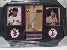 Ted Williams Boston Red Sox Signed Autographed Framed Photo Certified JSA CoA