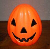 "Vintage Halloween Empire Lighted Pumpkin Blow Mold Jack-O-Lantern 13"""