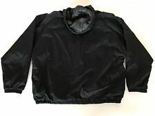 RaRe Vintage 90's NIKE Big Mesh Hooded Parka Full-Zip Windbreaker jacket XL 80s