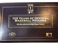 WILLABEE & WARD 125 YEARS OF BASEBALL COOPERSTOWN PATCH COLLECTION ~ BINDER ONLY