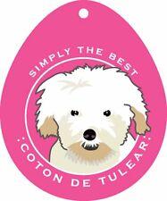 Coton de Tulear Sticker 4×4″