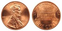 1996 P & D UNCIRCULATED LINCOLN CENTS (2 COINS)