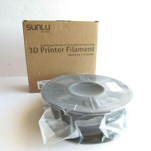 SUNLU SPLA 3D Printer Filament 1.75mm 1 KG Black Tolerance 0.02mm NEW Sealed
