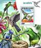 Niger 2017 MNH Hummingbirds Hummingbird 1v S/S Colibris Birds Bird Stamps