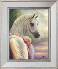 'A Cherished Friend', Beautiful Oil Painting: A Fantastic Gift Idea!