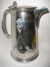 RARE VINTAGE 1964 LAKE SUCCESS GOLF CLUB ENGLISH PEWTER ENAMEL PITCHER TROPHY