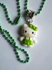 "28"" Hello Kitty Cat Resin Charm Pendant Necklace New HKMS8"
