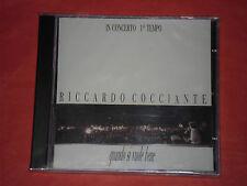RICCARDO COCCIANTE-QUANDO SI VUOLE BENE- IN CONCERTO- CD musicale-sigillato