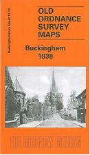 Vieux Ordnance Survey Map Buckingham 1938