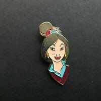 Sedesma - Mulan Face - Gold Metal Disney Pin 75220