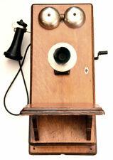 NORTHERN TELECOM WALL MOUNT CRANK TELEPHONE MODEL 317-G. 1900-1910. TAKE A LOOK!