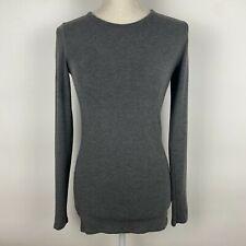 Majestic Filatures Paris Gray Superwashed Long Sleeve T-Shirt 3 / Large