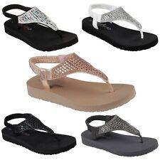 9ff6e8c3 Womens Skechers 31560 Cali Meditation Rock Crown Slingback Sandals Flip  Flops