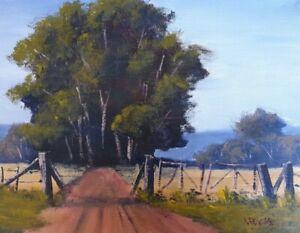 Rod Moore Australian Landscape Original Oil Painting Capertee Valley Art