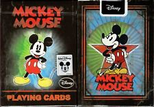 Vintage Mickey Mouse Playing Cards Poker Size Deck USPCC Disney Custom Limited