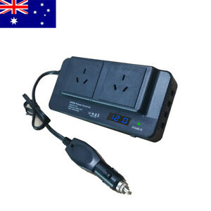 Car Power Inverter 12V to 240V AC Converter 200W With 4USB  Phone Charger AU