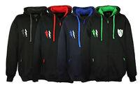 BROOKLYN Six Nations Rugby Big King Size Hoodie Hooded Jacket Zip Up Top