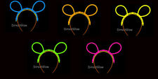 Set of 5 Assorted Glow Stick Bunny Ears