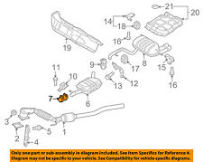 AUDI OEM 11-15 Q7 3.0L-V6 Exhaust-Muffler & Pipe Clamp 1K0253141T
