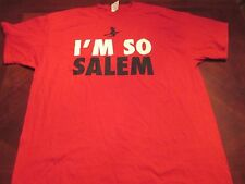 NEW I'M SO SALEM RED T-SHIRT SIZE 2XL MA. HALLOWEEN WITCH CITY
